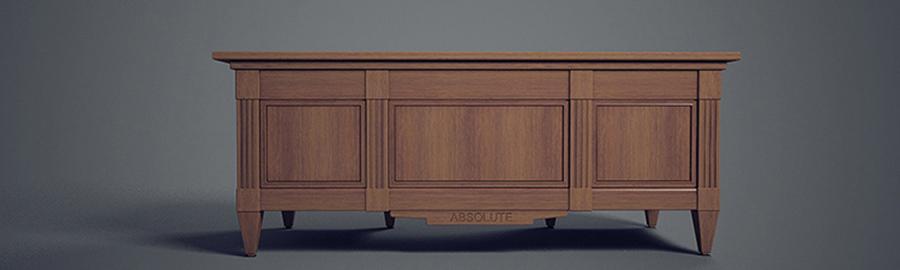 дизайн проект стола для классического кабинета